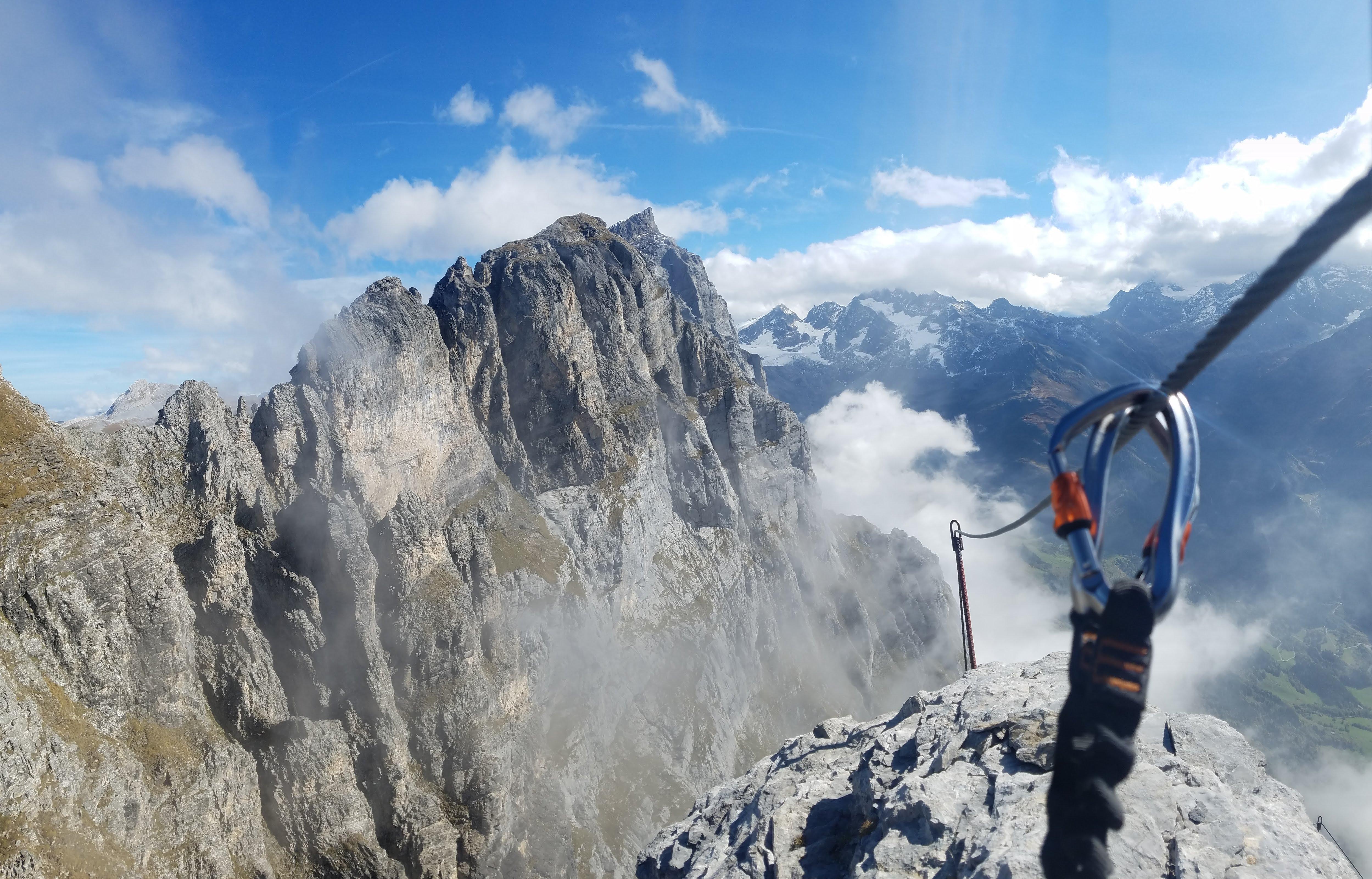 Klettersteig Wimmis : Tälli klettersteig m u tourenberichte und fotos hikr